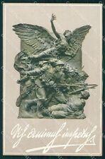 Militari IV Reggimento Bersaglieri Ciclisti Ceragioli cartolina XF1485