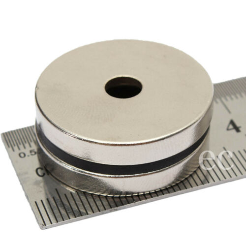 30mm x 3mm With 5mm Hole Strong Large Neodymium Cylinder Disc Magnets With Hole