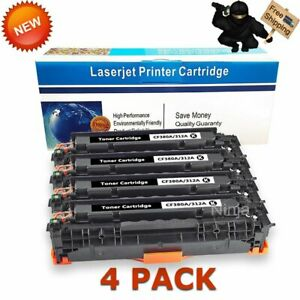 4-PK-CF380A-Black-Toner-for-HP-312A-Color-Laserjet-Pro-MFP-M476nw-M476dn-M476dw