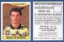 FIGURINA CALCIATORI PANINI 1990/91 - NUOVO/NEW N. 72 DI BITONTO - CAGLIARI