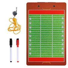 """Jumbo 18x24/"""" Coach Board w//pen Pro-Tuff Football Coaches Dry-Erase Play Board"""