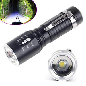T6-Zoomable-Tactical-Military-10000Lumens-XM-L-18650-Flashlight-Torch-LED-Lamp