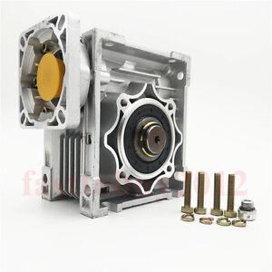 NEMA34 NEMA42-050 Worm Gear Reducer Ratio10 15 20 25 30 40 50 60 100:1 for Servo