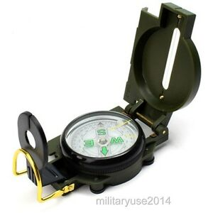 Guerre-du-Vietnam-US-Army-Military-M-1950-Lensatic-Compass-Outdoor-Randonnee-Chasse