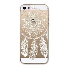 Hot Sale Dream catcher Pattern Soft TPU Back Case Cover Skin For iPhone 5/SE/5S
