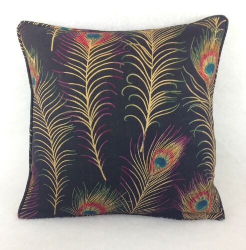 """Sanderson Cushion Covers In Themis Carbon Available In 18/""""x18/"""" 16/""""x16/"""" 16/""""x12"""