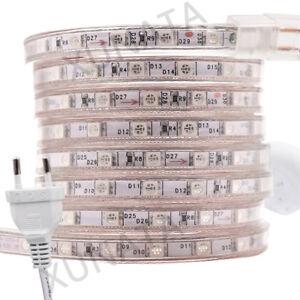 220v 240v 5050 Smd Led Strip Light Lamp