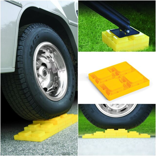 Rv Leveling Blocks Trailer Accessories Camco Camper Level 5th Wheel Set Of 4 For Sale Online Ebay