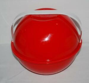 Vintage-Ingrid-Mid-Century-Modern-Stackable-Picnic-Set-Plates-Atomic-Party-Ball