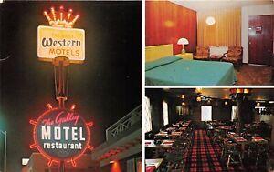 WY, Casper, Wyoming, Uptown Motel Restaurant Interior