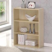 Item 1 Small Wood Bookcase 3 Shelf Book Storage Bookshelf Home Room Office Furniture