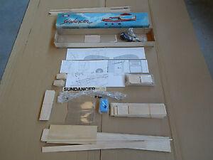 Svenson Sundancer Vintage Airplane Kit De Montage Rc Avion Avion
