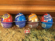 4 Cadbury Creme Chocolate Easter Eggs! Caramilk-Oreo-Chips Cream-Ships from USA!