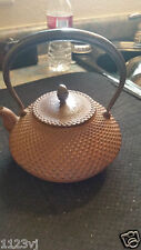 nambu tekki  tetsubin  teapot vintage