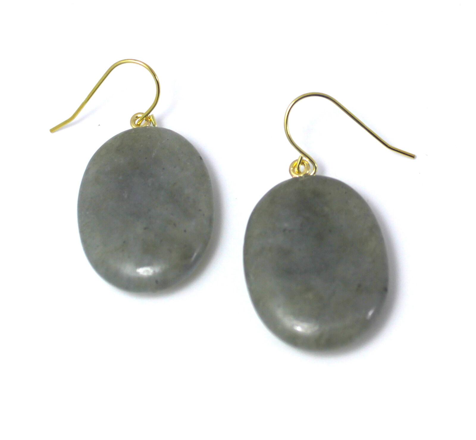 Lola pink Shoshannah gold Tone Earrings in Labradorite