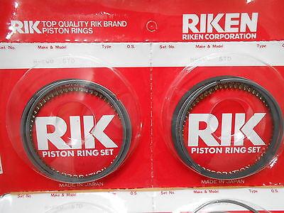Honda NT400 NT 400 J K L Bros 88-92 Piston rings 0.50  (pair) 13013-KW0-305