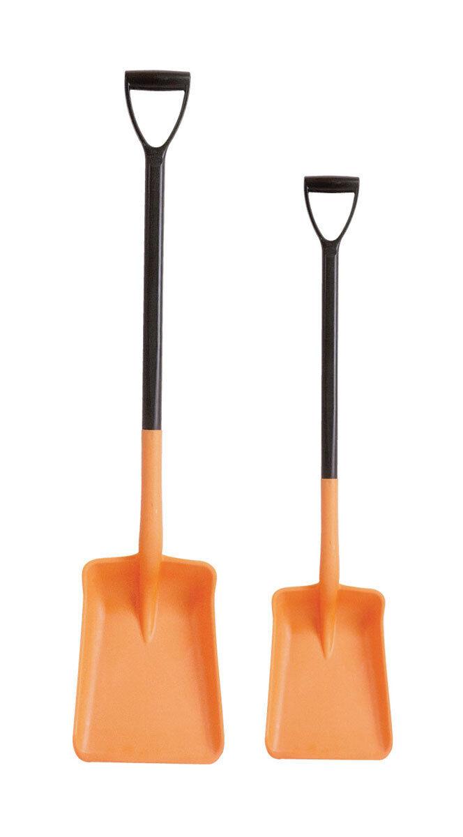 Harold Moore Plastic Shovel  Standard orange color Large Size 9655  fast delivery