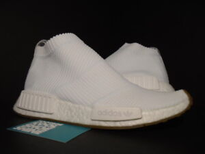 Details about 2017 ADIDAS NMD CS1 PK PRIMEKNIT FOOTWEAR WHITE GUM PACK R1 XR1 BA7208 NEW 9