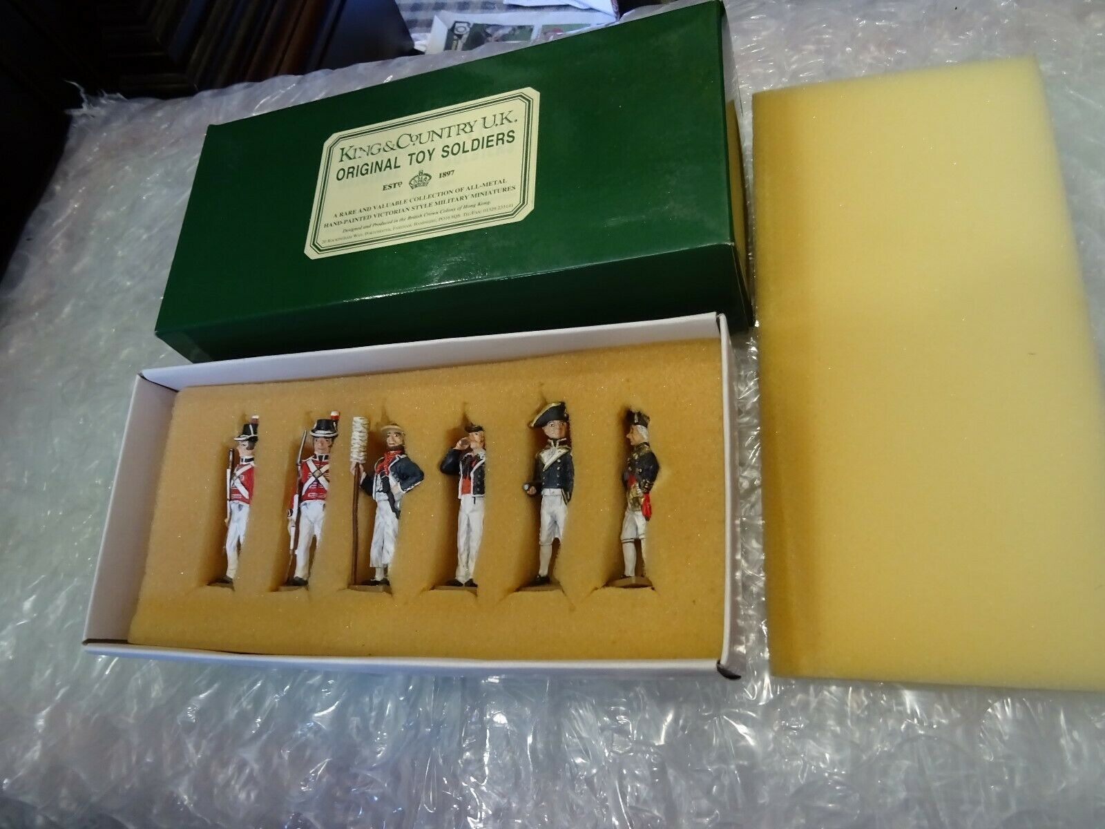 King & Country 'Nelson's Navy' Set .NN1-6, .NN1-6, set of 6 figures  Retired & Sold Out