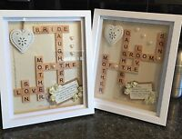 �� 2 X Unique & Personalised Mother Of The Bride & groom Thank You Gift����
