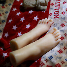 Full Silicone Female Legs Feet 1 Pair Size 36 Mannequins Shoes Socks Model