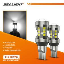 Sealight Backup 921 T15 912 W16w Csp Led Bulb Back Up Reverse Light White 4000lm
