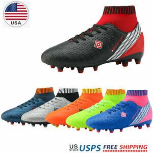 Dream-Paires-Garcons-Filles-Nouveau-Leger-HZ19007K-Football-Crampons-Soccer-Shoes