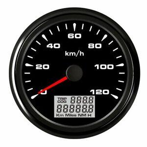 85mm-GPS-Speedometer-Gauge-120-KM-H-Odometer-For-Boat-Car-Truck-Motorcycle-ATV