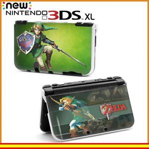 Funda-Protector-Nintendo-New-3DS-XL-Carcasa-Dibujos-Zelda-Link