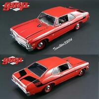Gmp 18830 1970 Chevy Nova Yenko Deuce - Cranberry Red Dicast Car 1:18