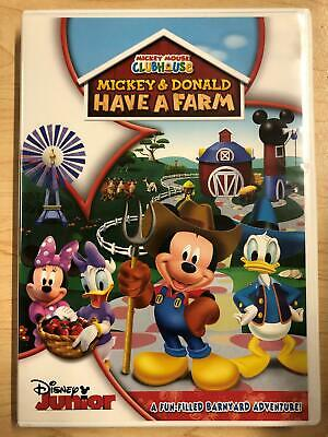 Mickey Mouse Clubhouse Mickey And Donald Have A Farm Dvd 2012 Disney G0621 786936832358 Ebay