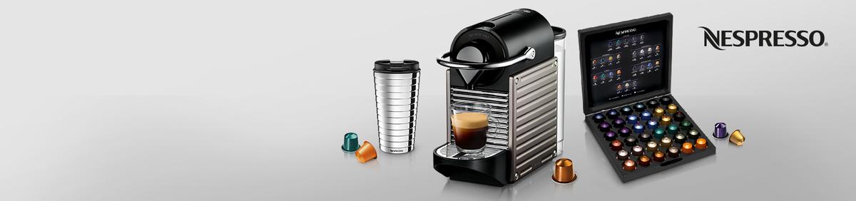 Aktion ansehen 20%* auf Nespresso mit Code PSHOPPING20 Jetzt Couponcode PSHOPPING20 einlösen