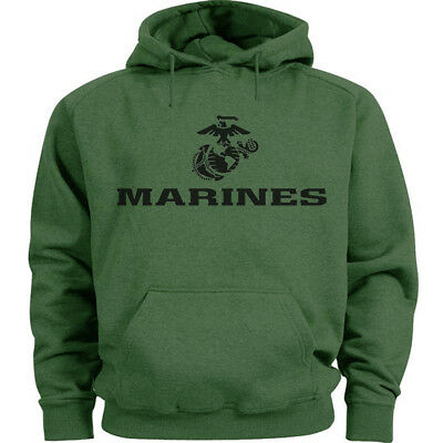 USMC Hoodie Sweatshirt for Men US Marine Corps Decal Clothing Men/'s Gift Ideas