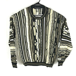 Vintage-Protege-Collection-Bill-Cosby-COOGI-Style-Biggie-Smalls-3d-Pullover-XXL-Herren