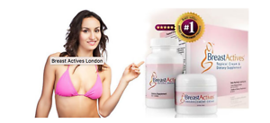 Breast Actives Breast Enhancement System 1 Month Supply New In
