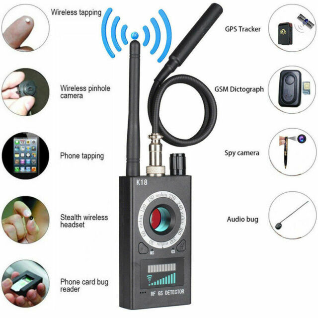 K18 Multifunktions-Anti-Spion-Detektor-Kamera GSM-Audio-Detektor GPS-Signal #1