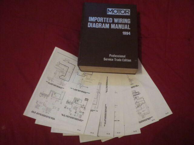 1994 Mitsubishi Diamante Wagon Wiring Diagrams Schematics Set
