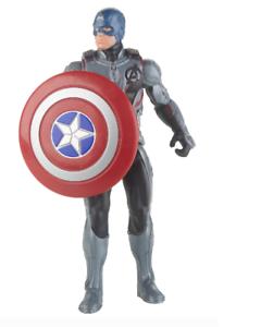 Marvel Avengers Endgame Team Suit Captain America 6 Inch Scale Action Figure NIB