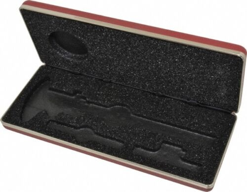150mm Use With 6 Inch 120//120M Series Dial C... Starrett Caliper Case 1 Piece