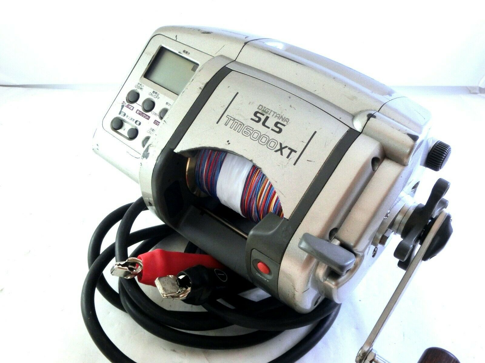 SHIMANO Dendou-maru SLS TM6000XT Big-game Electric  reel +Used PE line Good  all in high quality and low price