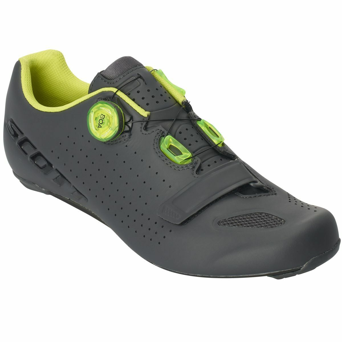 Scott Road Vertec BOA Road Bike chaussures gris jaune 2019