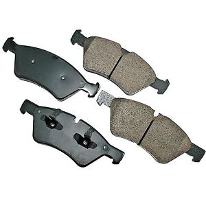 Mercedes benz brake pads front semi metallic gl550 ml320 for Mercedes benz gl450 brake pads