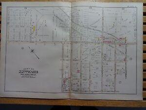 Seltener & Sprague Ave Durchblutung GläTten Und Schmerzen Stoppen Ordentlich 1899 Map Of Philadelphia Morton St 22nd Ward