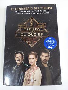 EL-MINISTERO-DEL-TIEMPO-EL-TIEMPO-ES-EL-QUE-ES-LIBRO-DE-LA-SERIE-DE-TV-NOVELA