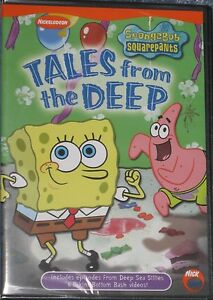 NEW-DVD-Spongebob-Squarepants-Tales-from-the-Deep-Factory-Sealed-Free-Ship