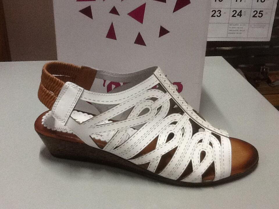 ladies sandal Cabello IM5005 white size 42/11