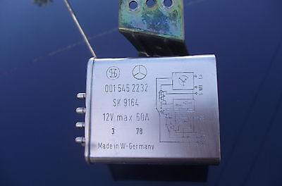 Mercedes Diesel Glow Plug Relay 001 545 22 32 fit 240D*300D, CD, TD W123