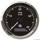 Osculati Contagiri 0-4000 RPM Nero/lucida -