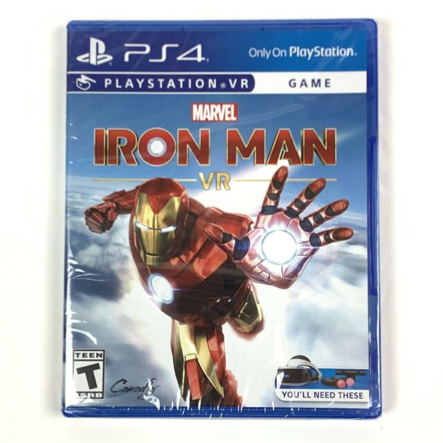 Marvel Iron Man VR (Sony PlayStation 4/PS4, 2020) Brand New/Factory Sealed