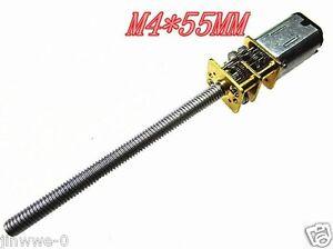 DC3V 15~1000RPM M4*55 N20 motor screw Geared motor Long thread shaft Gearmotors